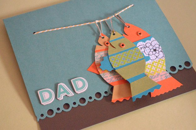 Creative DIY Father's Day Card Projects | http://www.foliver.com/diy/21-diy-ideas-for-fathers-day-cards/