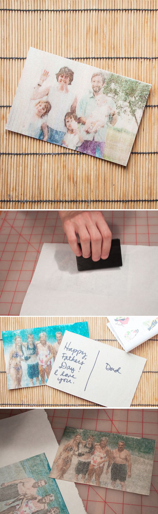 Easy DIY Handmade Father's Day Card Ideas | http://www.foliver.com/diy/21-diy-ideas-for-fathers-day-cards/