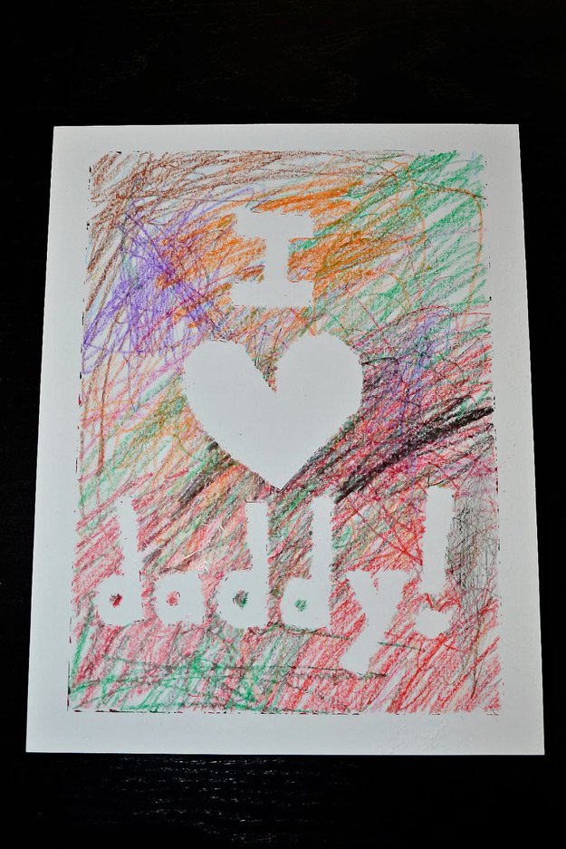 Easy Handmade Father's Day Cards from Toddlers | http://www.foliver.com/diy/21-diy-ideas-for-fathers-day-cards/