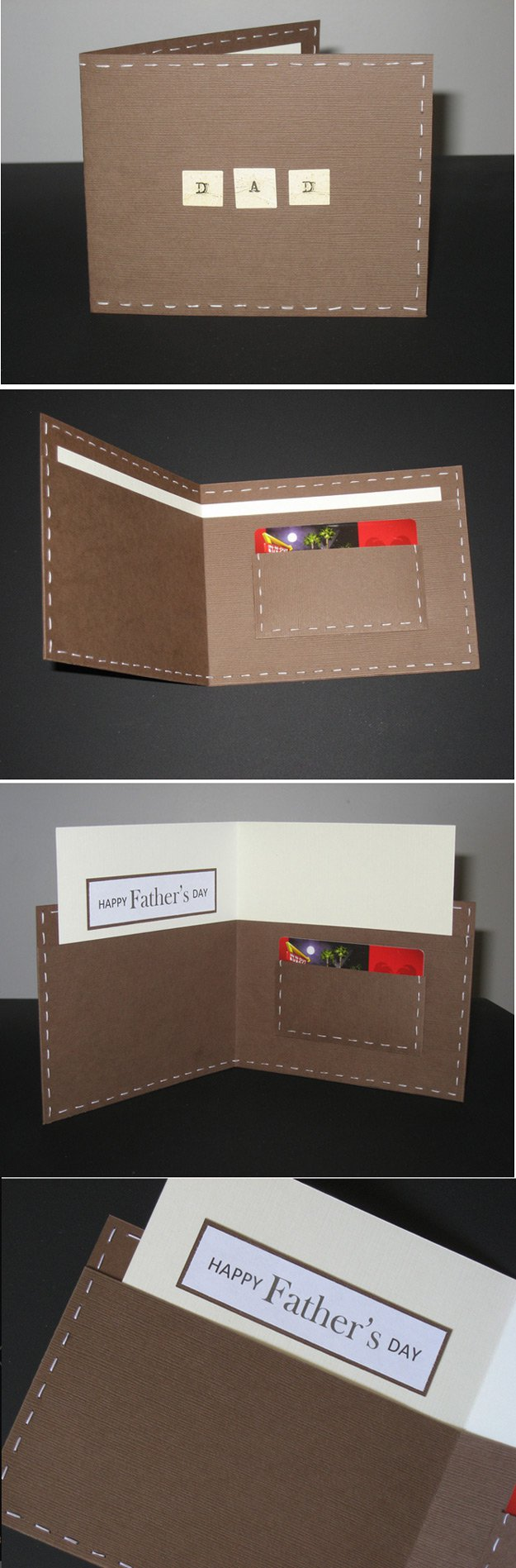 Cool DIY Fathers Day Card Ideas | http://www.foliver.com/diy/21-diy-ideas-for-fathers-day-cards/
