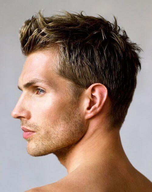 simple mens hair