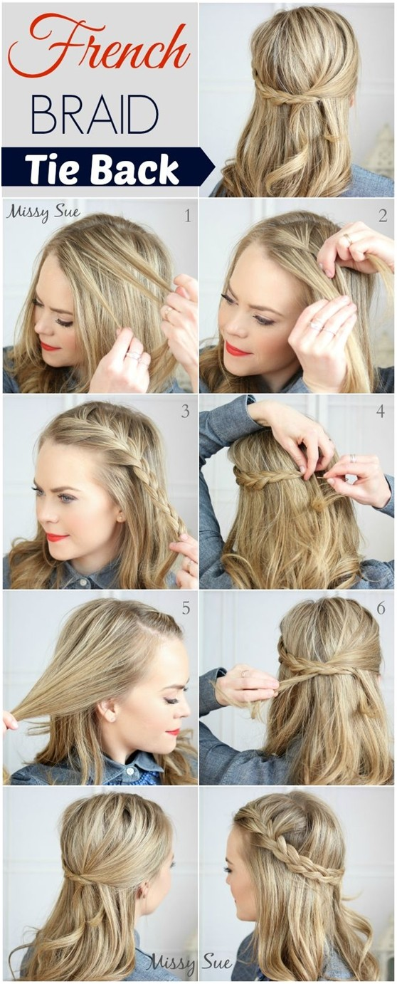 French Braid Tutorials: Braided Hair Styles for Summer