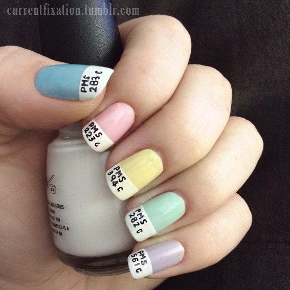 27 Lazy Girl Nail Art Ideas That Are Actually Easy Page 14