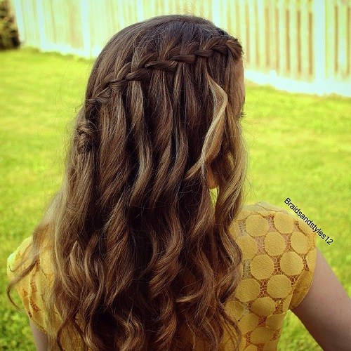 10-curly-half-up-waterfall-braid-hairstyle