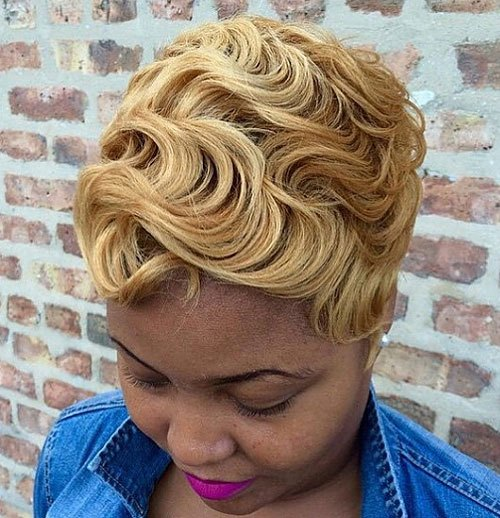 11-African-American-blonde-pixie-finger-waves