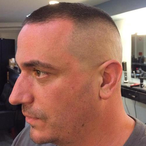 20 neat and smart high and tight haircuts page 11 foliver blog 11 high and tight for receding hairline urmus Gallery