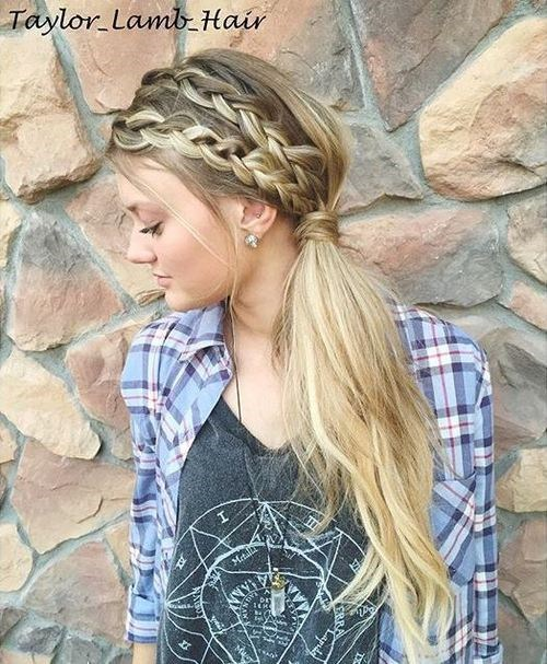 11-long-side-ponytail-with-two-headband-braids