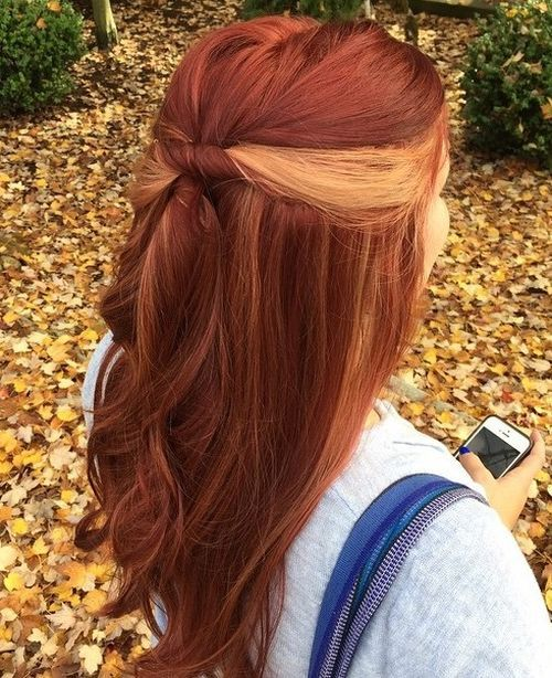 13-copper-red-hair-with-blonde-peekaboo-highlights