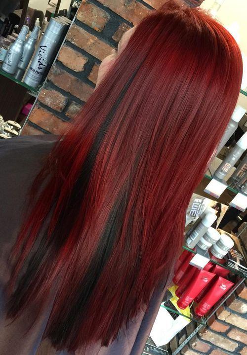 14-wine-red-hair-with-black-peekaboo-highlights