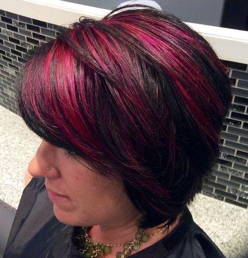 16-black-bob-with-bright-pink-highlights