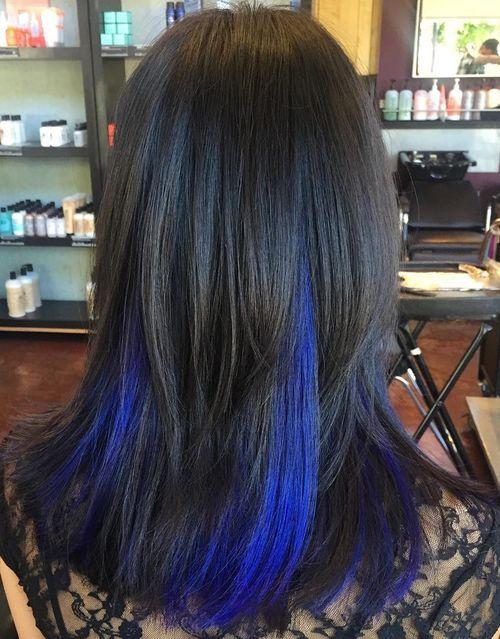 3-black-hair-with-blue-peekaboo-highlights