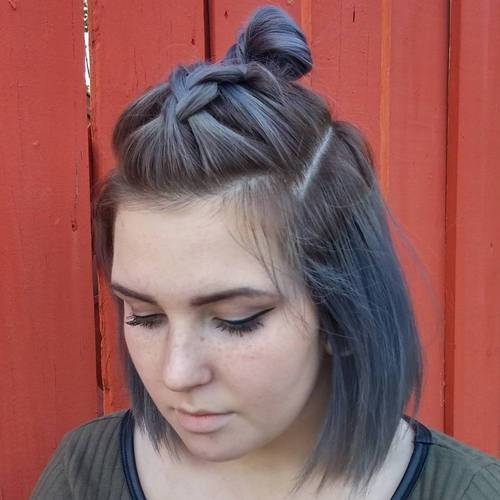 4-half-updo-with-braid-and-top-knot-for-bob-haircut