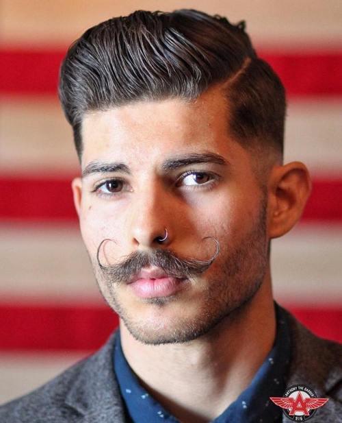 4-side-part-pompadour-and-hipster-moustache