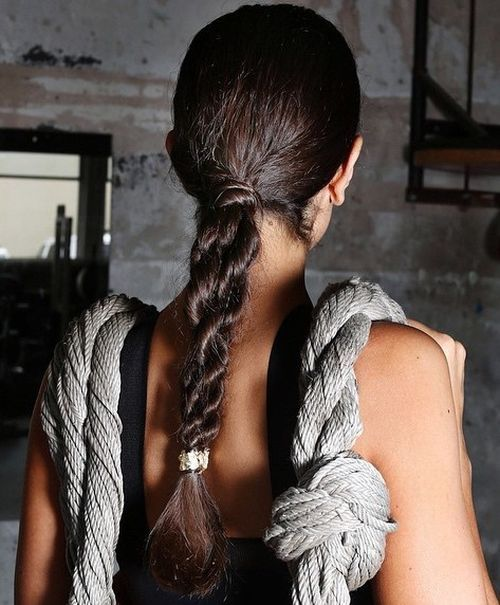 6-low-pony-with-a-twist-for-long-hair