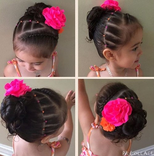 8-braid-and-bun-with-a-flower-updo-for-toddlers