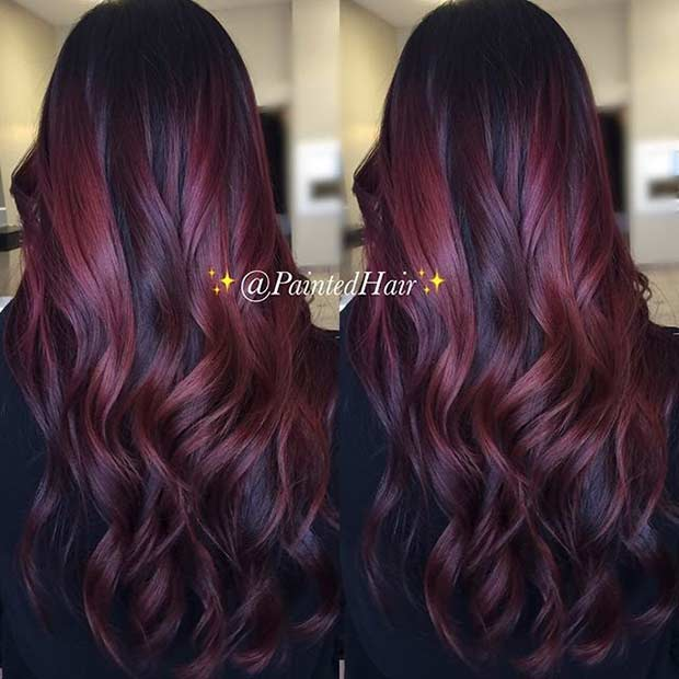 Red Hair Color Highlights Find Your