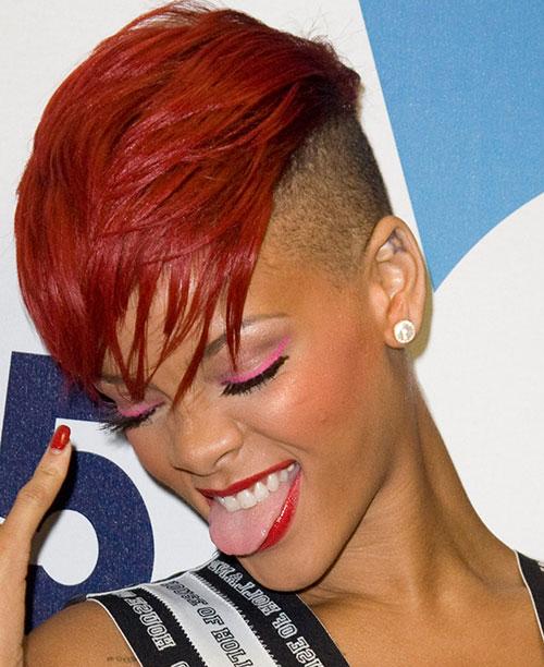 10 Rihanna-Red-Color-Mohawk