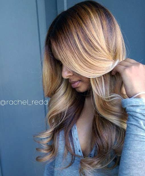 11 Dimensional Honey Blonde Hair Color for Summer