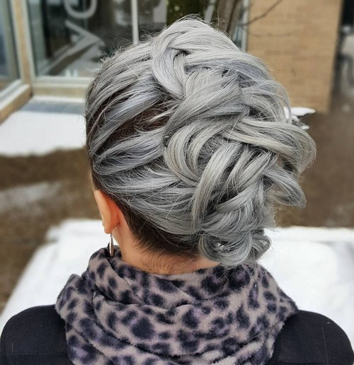 11-grey-mohawk-braid-updo