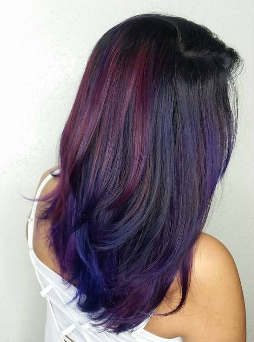 13-black-hair-with-burgundy-and-blue-balayage