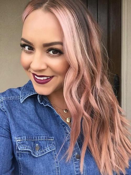 14-light-pastel-pink-balayage-highlights