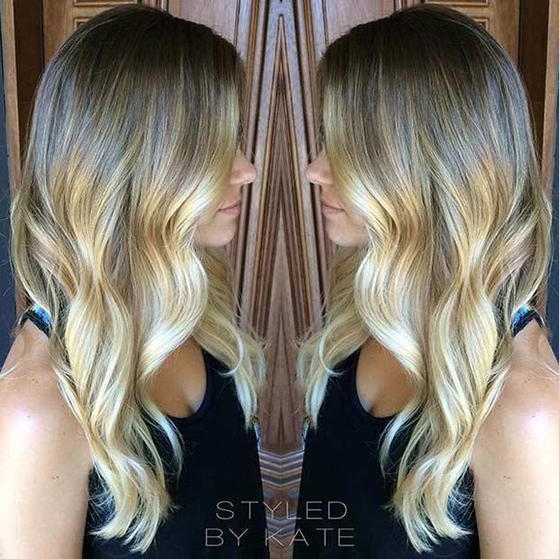 15 Sandy Blonde Balayage Hair