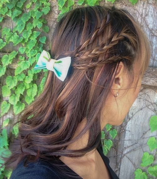 17-half-up-braided-hairstyle-with-a-bow