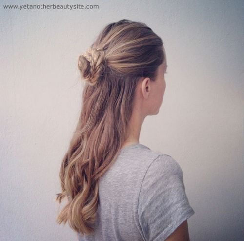 18-braided-bun-half-updo