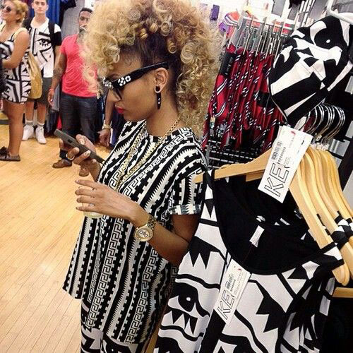 2 Curly-Blonde-Mohawk-Black-Woman-Hairstyle