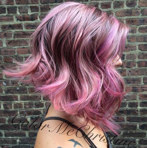 2-pastel-purple-and-pink-highlights-for-brown-hair