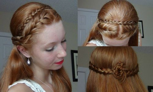 20-cute-red-half-up-braided-hairstyle