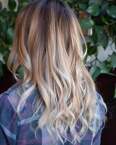 21 Warm Blonde Balayage Highlights for Brown Hair