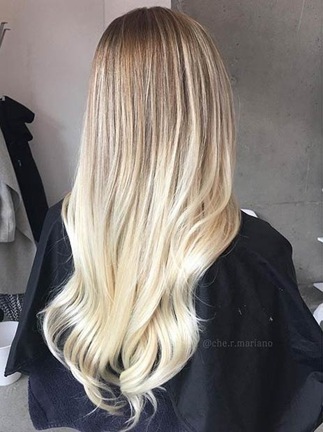 22 chedotrdotmariano blonde balayage ombre