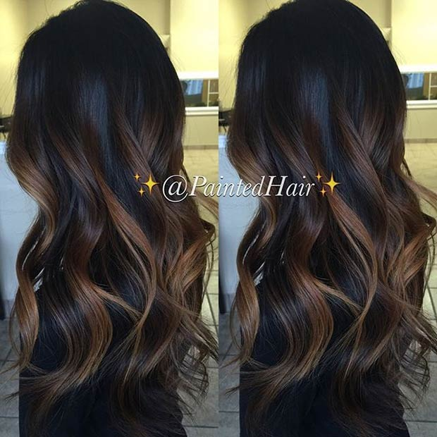 25-paintedhair-caramel-waves