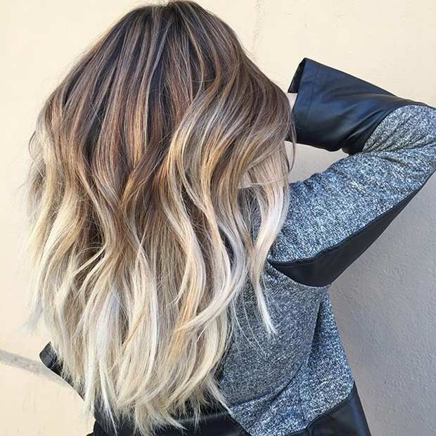 28 Beige Blonde Balayage Ombre