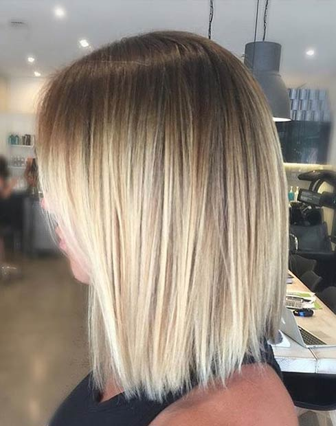 29 Summer Blonde Balayage Hair Look