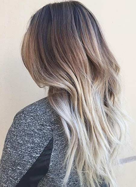 3 Beige Blonde Balayage Hair Color Look