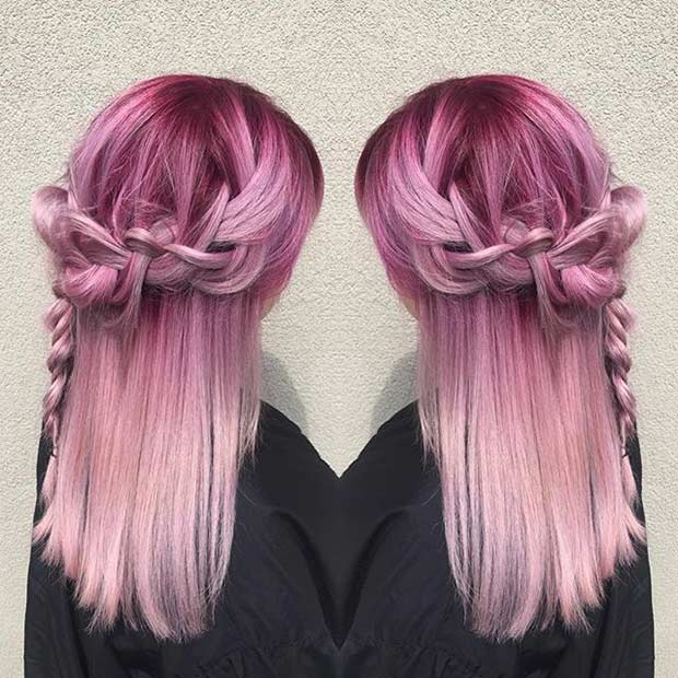 21 Pastel Hair Color Ideas For 2016 Page 4 Foliver Blog