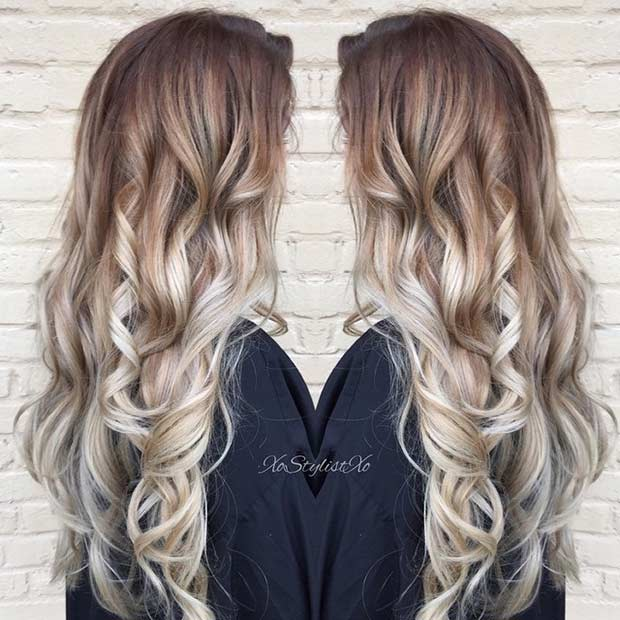30 Ashy Blonde Balayage Highlights