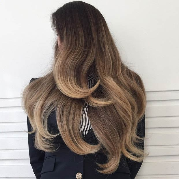 Balayage Highlights On Super Long Hair 33 Altinhairartist3