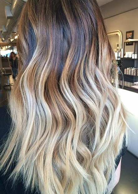 4 Blonde Balayage Highlights for Brunettes