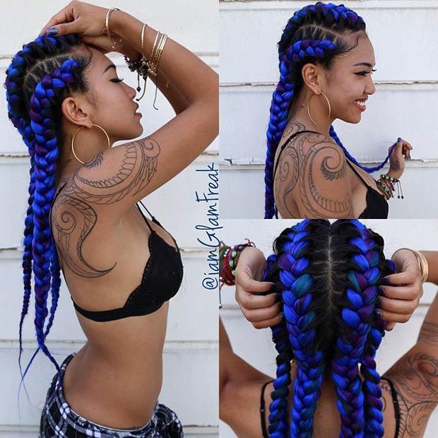 4-iamglamfreak-purple-and-blue-goddess-braids