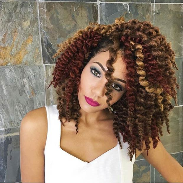 41 Chic Crochet Braid Hairstyles For Black Hair Page 41 Foliver Blog