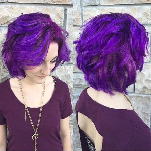 5-Vibrant-Purple-Curly-Bob-Haircut
