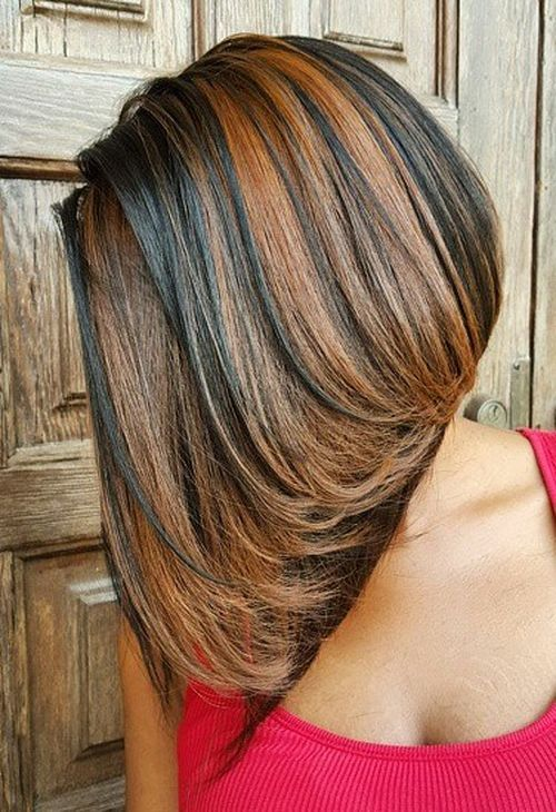 5-brown-bob-sew-in-with-caramel-highlights