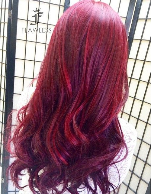 20 Versatile Ideas Of Purple Highlights For Blonde Brown And Red Hair  Page