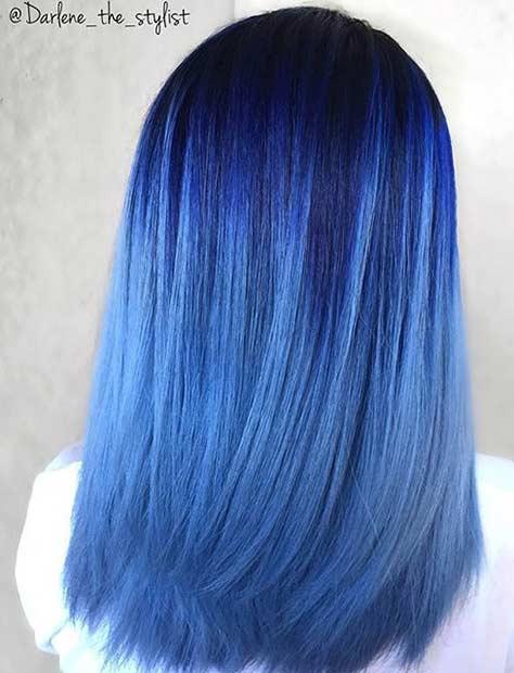 21 Pastel Blue Bedroom Designs Decorating Ideas: 21 Pastel Hair Color Ideas For 2019