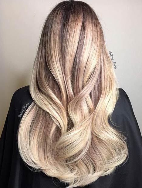6 Natural Looking Blonde Balayage