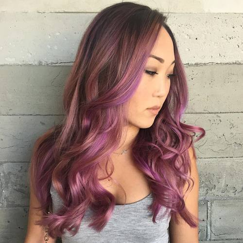 6-brown-hair-with-lavender-and-pastel-pink-balayage