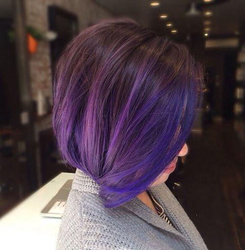 6-dark-brown-bob-with-blue-and-purple-balayage